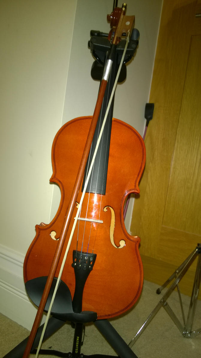 My violin by MrsRoosery