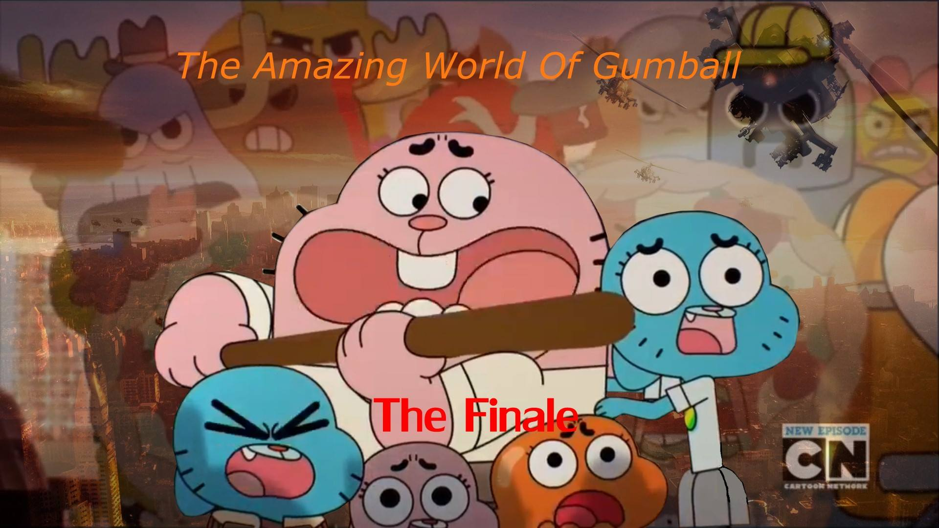 The Amazing World Of Gumball The Final Wallpaper By Edisonyeejia