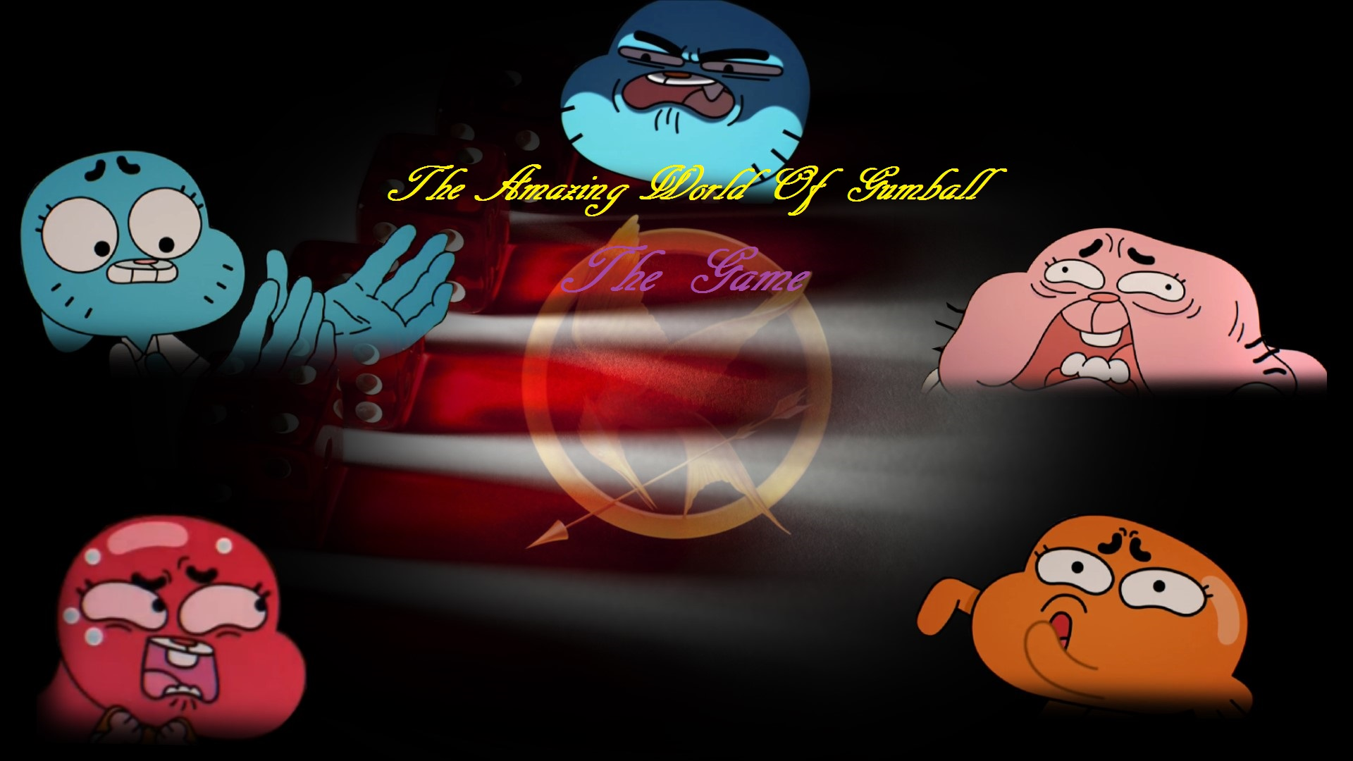 The Amazing World Of Gumball The Game Wallpaper By Edisonyeejia On