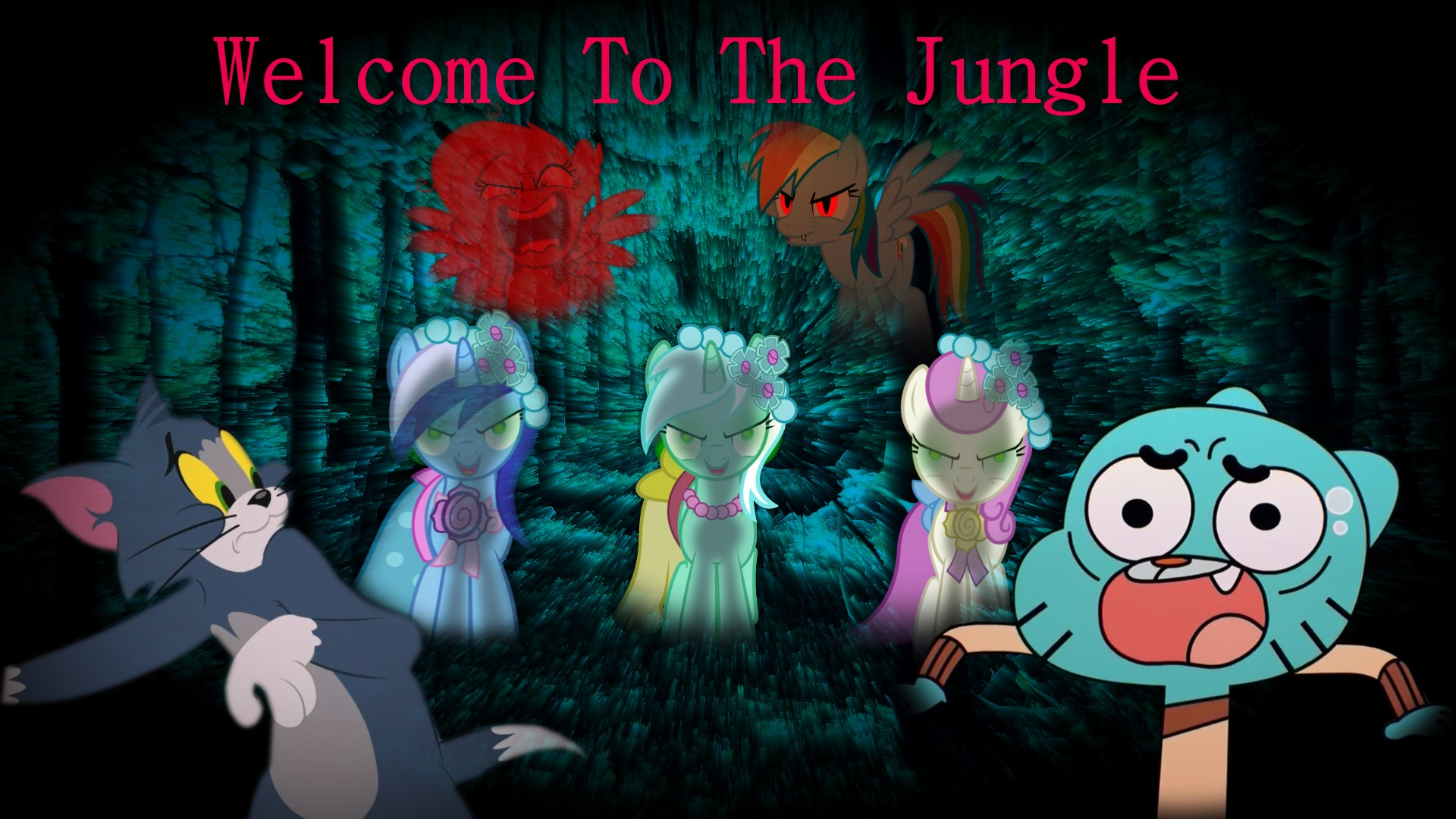 Welcome To The Jungle Wallpaper Theme by edisonyeejia on ...