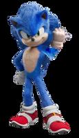 Sonic Movie Custom Render #3