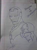Ironman by me by Shariqmafia22