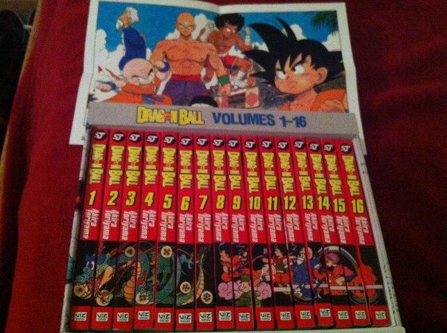 My Dragon Ball Manga Box Set Akira Toriyama By Xxstormlightxx On Deviantart