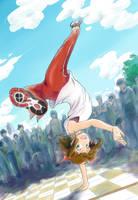 Break Dancer Haruka by nguyenvanhai