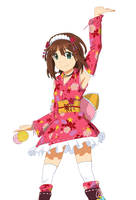Full Bloom Yukata Dress Haruka by nguyenvanhai