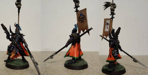 Dark Eldar Archon by heart-rate0