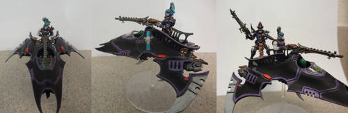 Dark Eldar Viper by heart-rate0