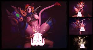 Maeve with Seris  NSFW Fan-Art