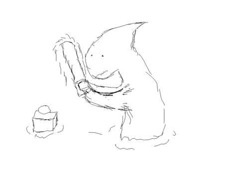 Mr Shark Is Angry At Lemon