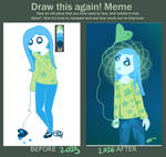 Draw This Again Meme by Emmiwau
