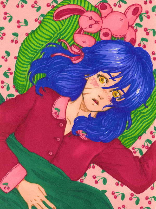 blue cherry crush by aycelcus on deviantart