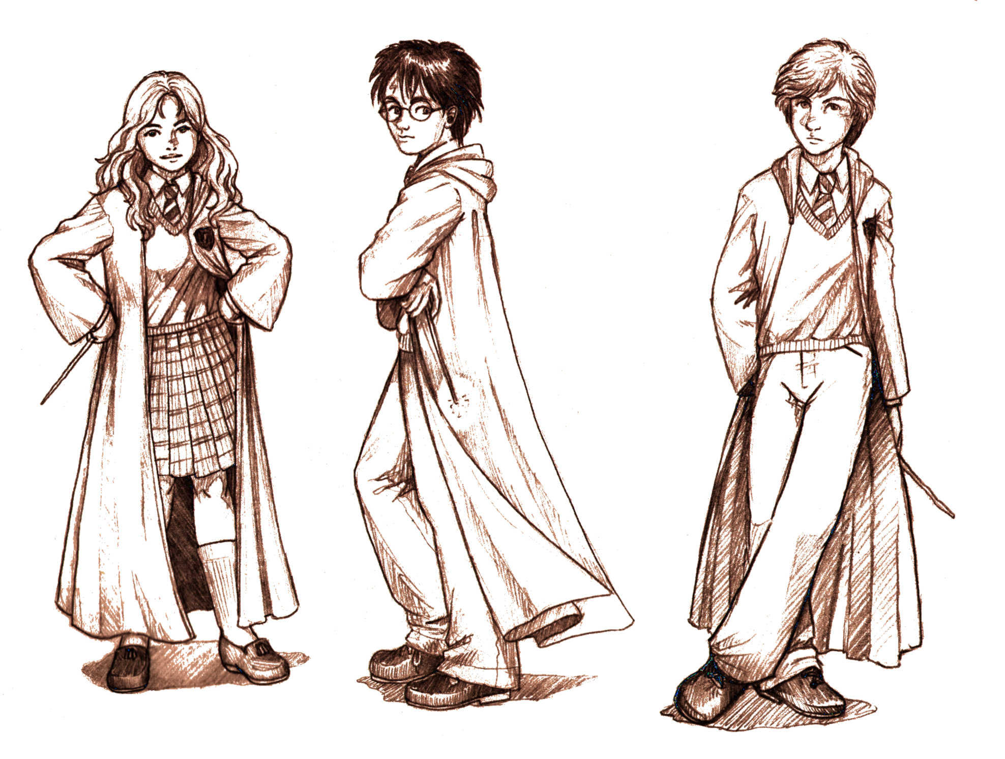 How To Draw Harry Potter Art