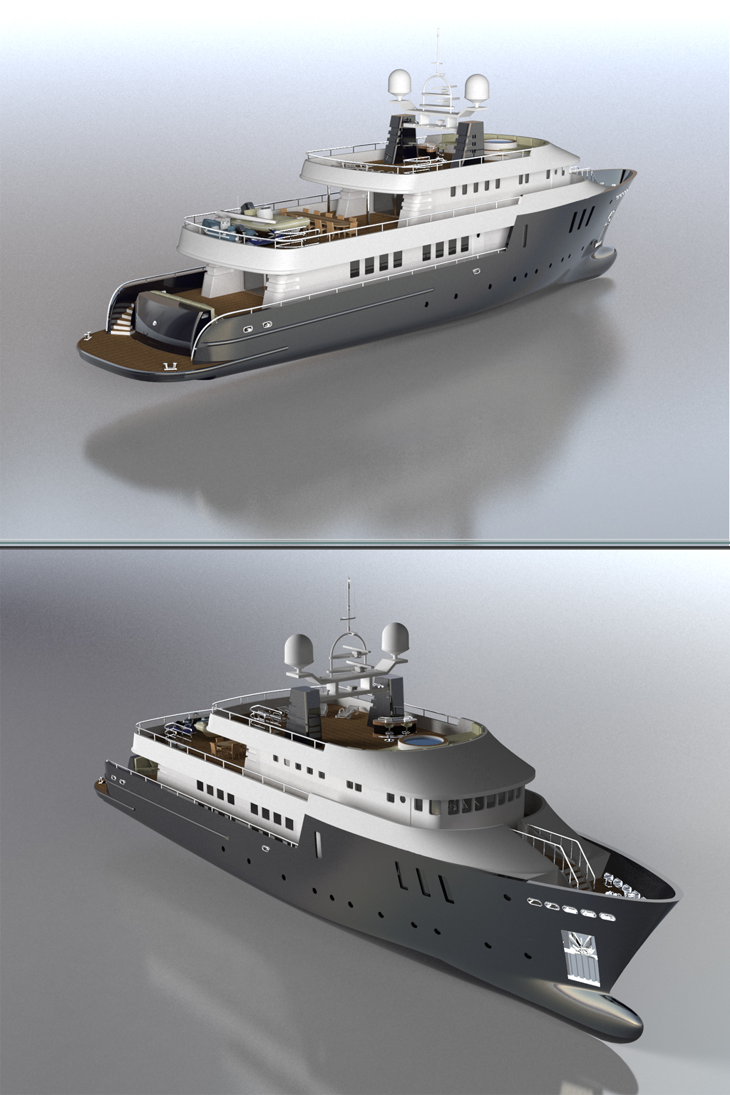 trawler yacht by pohorololo