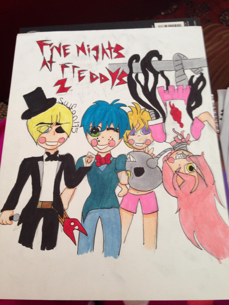 Five nights at freddys human toy animaltronics by soundwavefan175 on