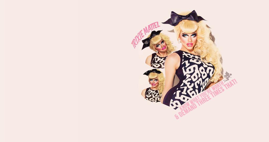 Trixie Mattel Wallpaper By Jvoom On Deviantart