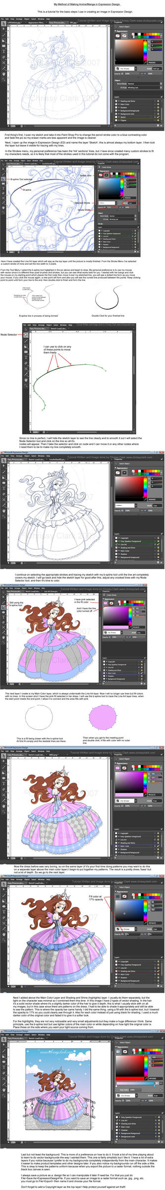 ExpressionDesign:MakingAnime by clrkrex