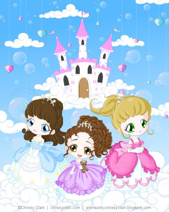 Little Princesses by clrkrex