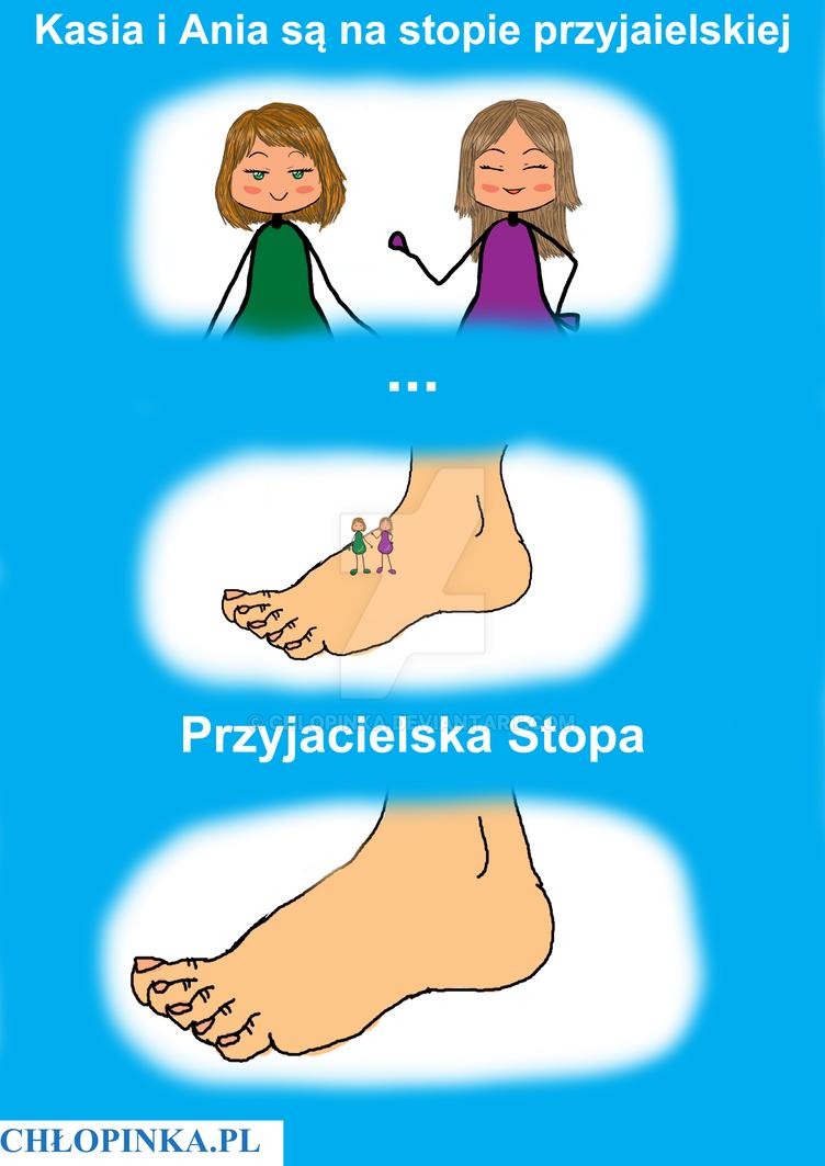 Przyjacielska Stopa by Chlopinka