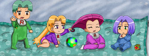 Rocket Babies by Mareanie2003