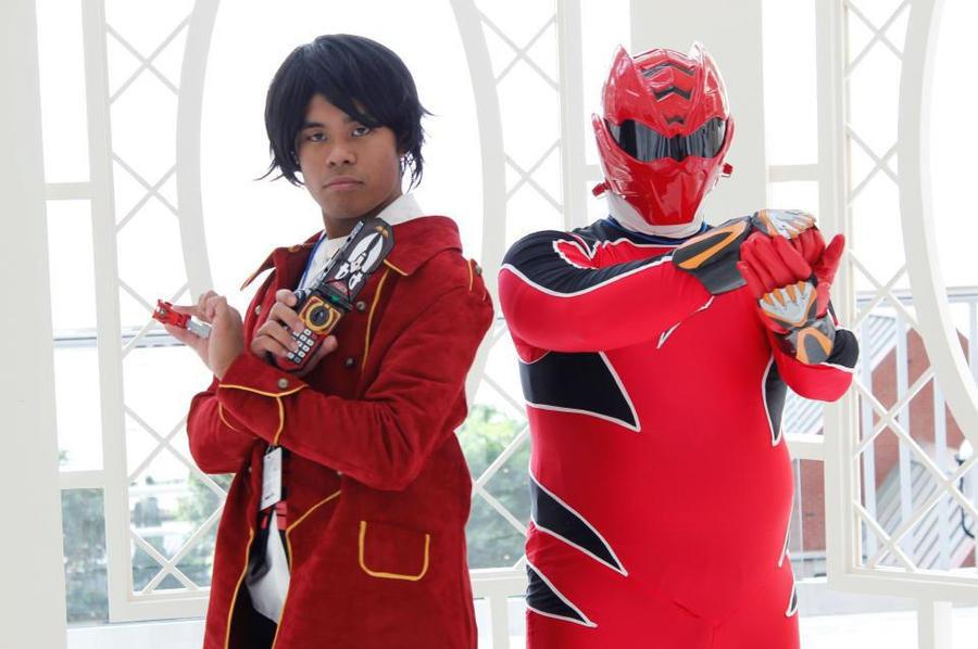 Super Sentai: Two Red Warriors by RJTH on DeviantArt
