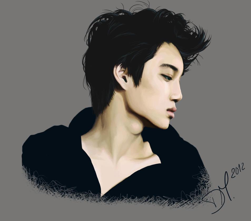 Kim Jongin by RollingAlien