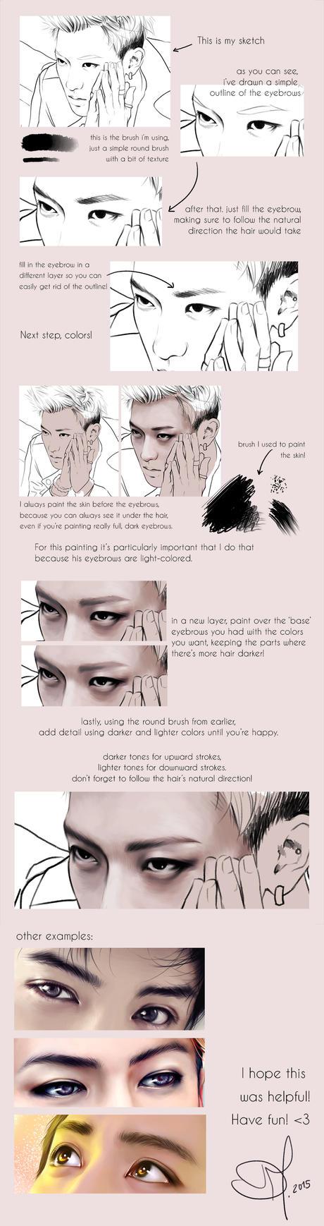 Eyebrow Tutorial by RollingAlien