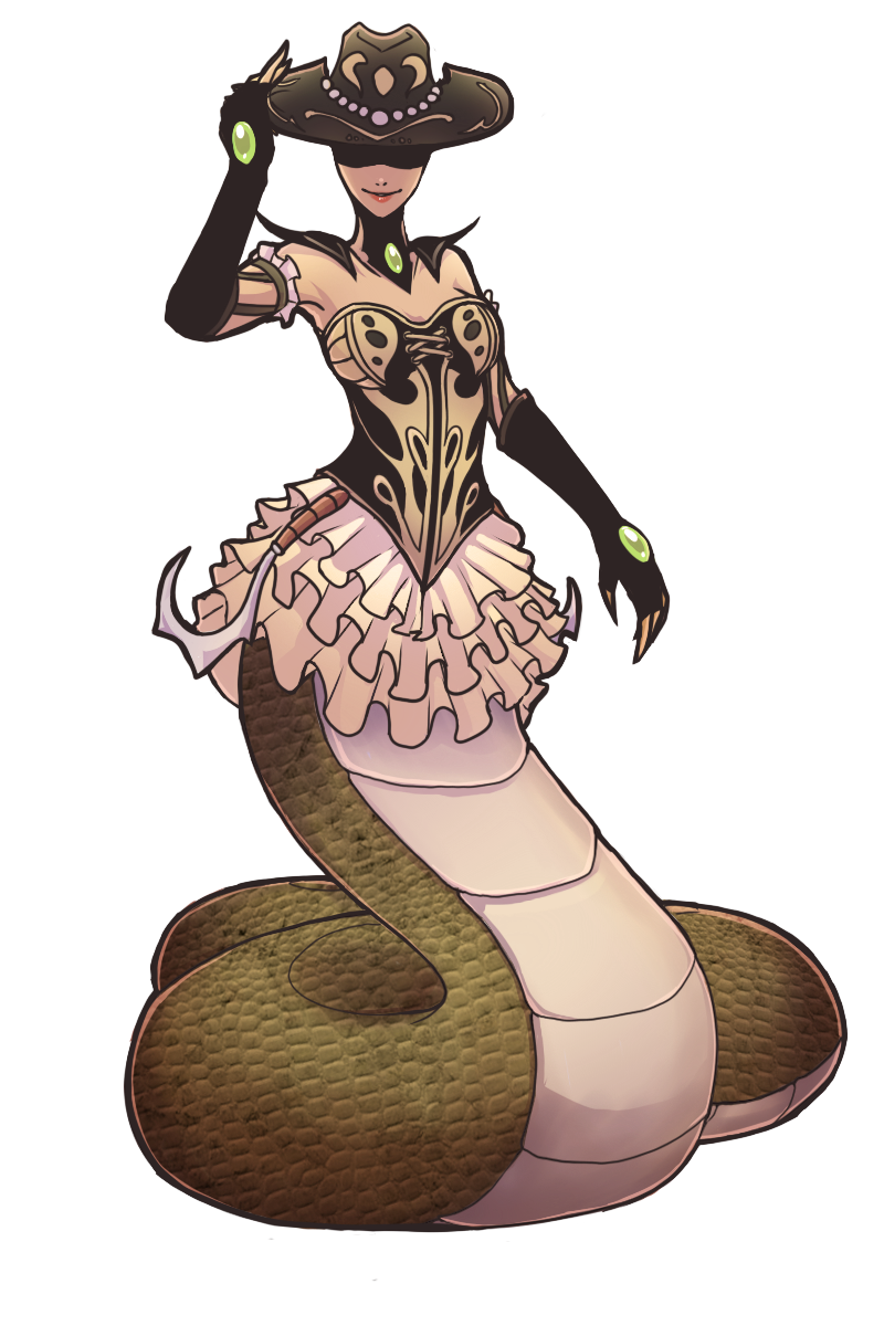 Rattlesnake Cassiopeia Color by Gladosy