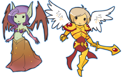 Morgana and Kayle -SC-