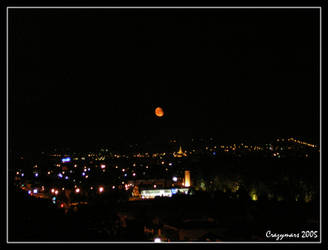 Red Moon by crazymars
