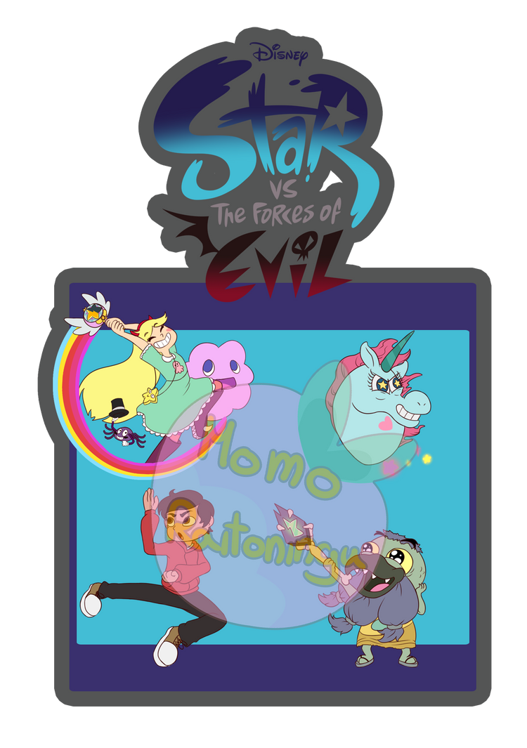 star vs the forces of evil sticker set by momoraitoningu on deviantart