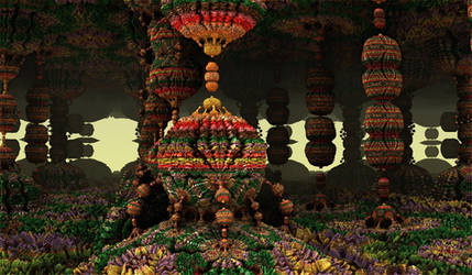 colouring bulb forest by Andrea1981G