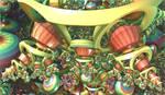 impressive colourful roundings