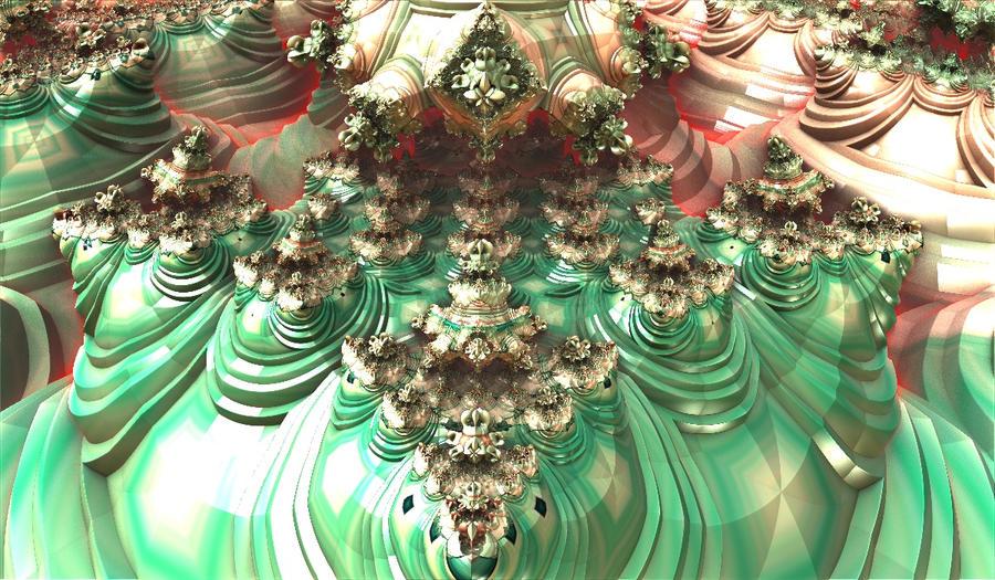 greenred shiny bulb by Andrea1981G