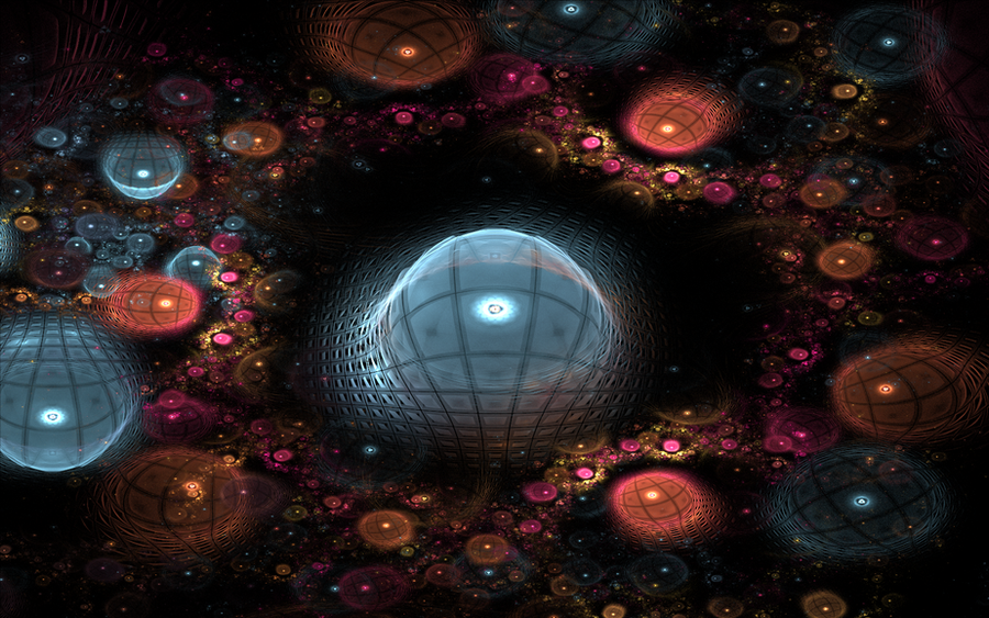bubble landscape by Andrea1981G