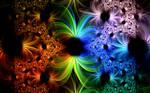 creative colourful wall