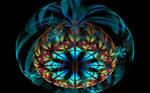 round flower creation