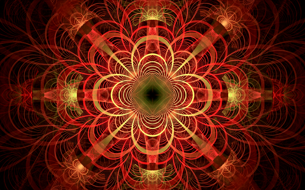 red weird pattern by Andrea1981G