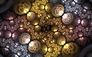 silvergold swirl roundings by Andrea1981G