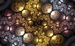 silvergold swirl roundings
