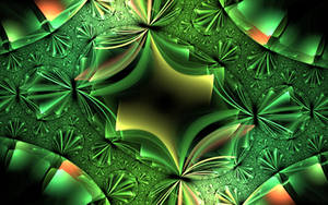 green shiny metallic construction by Andrea1981G