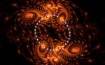 crazy fire swirls