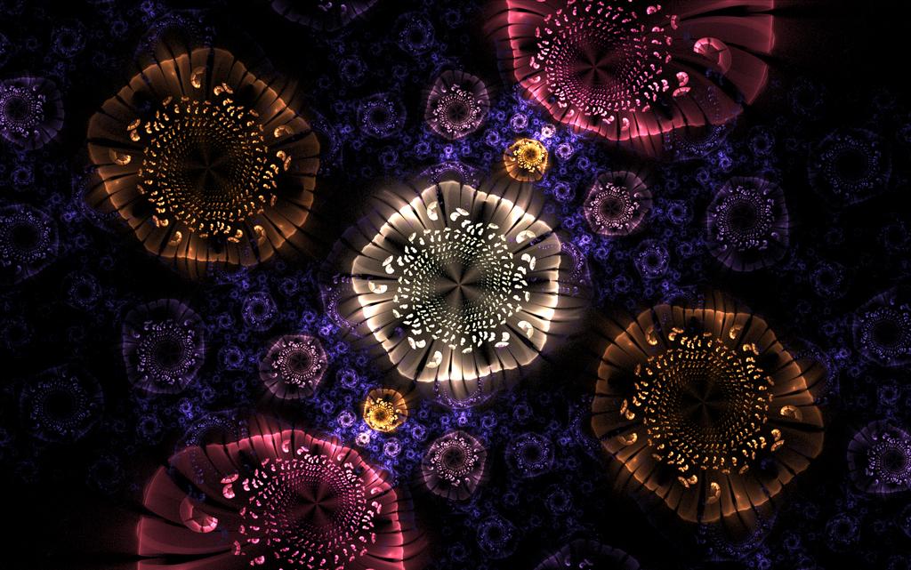 lightful swirl roundings in the dark by Andrea1981G