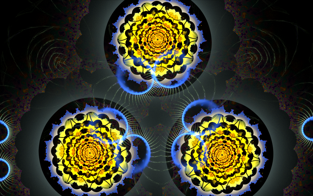 three creative yellow circles by Andrea1981G