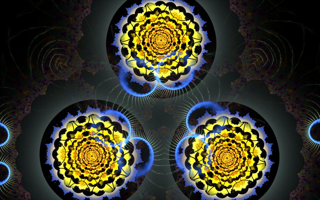 three creative yellow circles by Andrea1981G