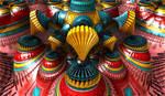 colourful creative bulb