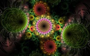 swirl flowers by Andrea1981G