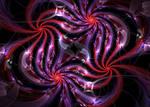 redviolet swirls