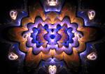 bluebrown lighting pattern