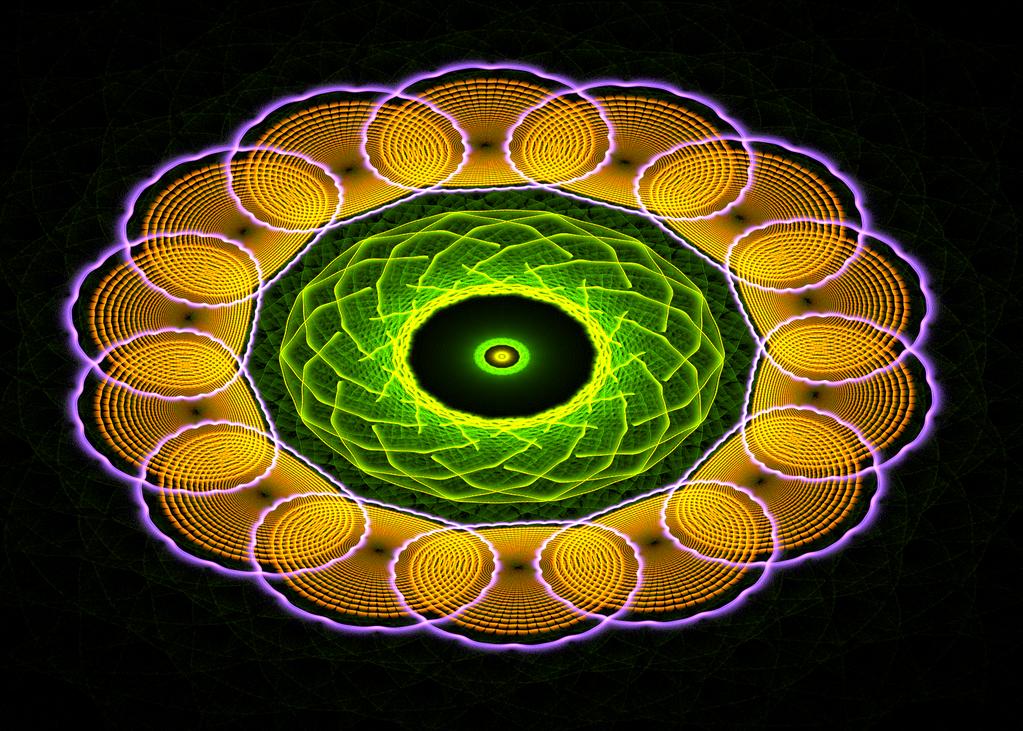 yellowgreen swirl ring by Andrea1981G