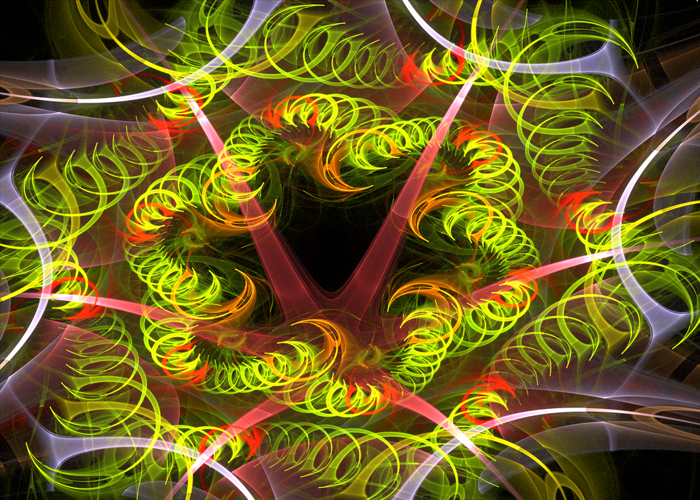 crazy green swirls by Andrea1981G